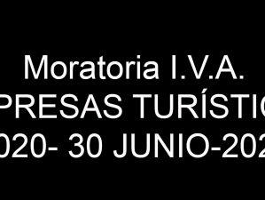 Moratoria IVA - 2020-2021