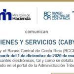 Catálogo de Bienes y Servicios CABYS